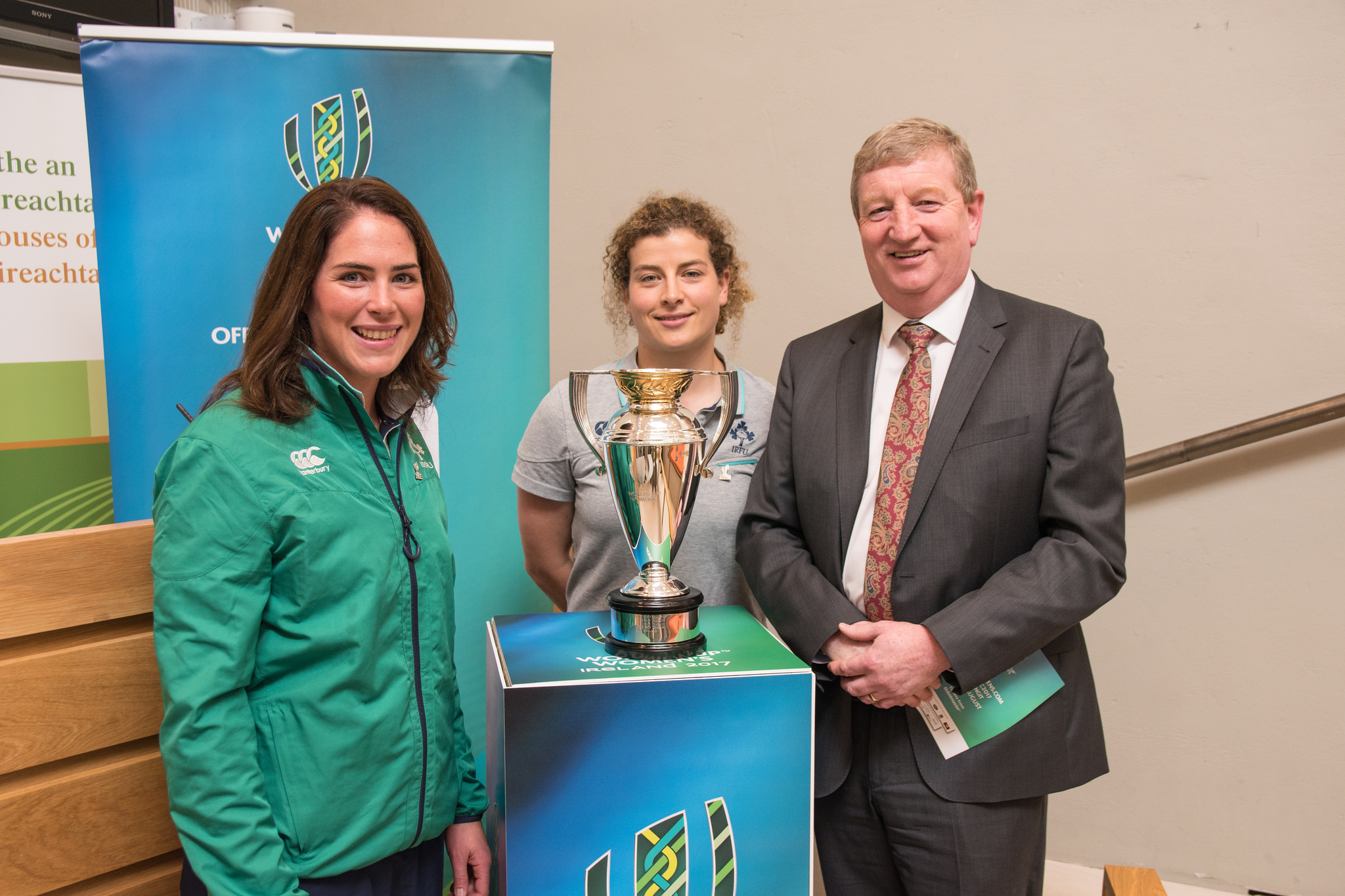 Meeting Irish Womens Rugby Team